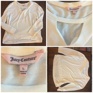 Juicy Couture Light Weight Top Size Large